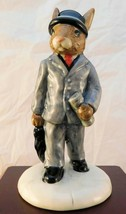 "Royal Doulton Bunnykins Figurine - ""Businessmanl"" DB203 - $20.89"