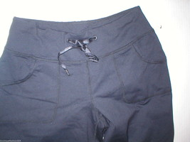 Women New Zella Nordstrom Pants Gym 0 Black Crop Capri Soul 2 Barre Yoga Pilate image 2