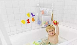 Kids Mesh Bath Tub Izer With Suctions And Bath Fish Toy - $21.99