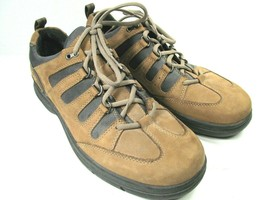 Clarks Mens Brown Leather Lace Up Oxfords Sneakers Size US 13 M - $28.13