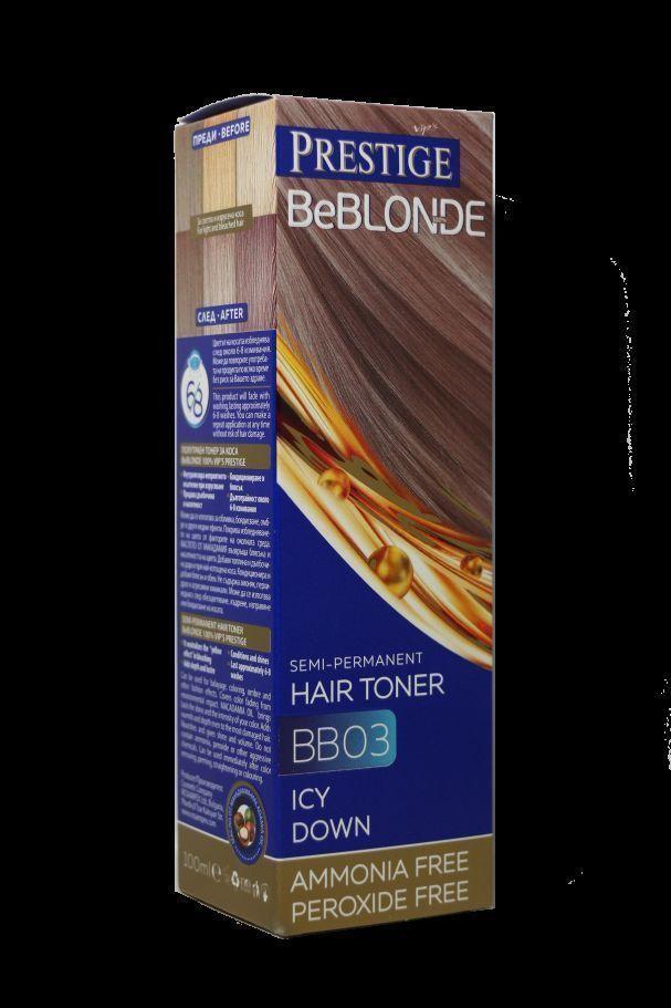 Rosa Impex PRESTIGE BeBlonde Semi 100ml - Permanent Hair Toner Ammonia Free