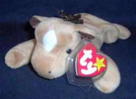 '95 Ty~Orig Beanie Baby~Derby The Horse~Coarse Yarn Mane~STAR~4TH Gen~Mwmt - $3.48