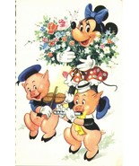 Walt Disney Productions, Minnie Mouse and Two Little Pigs (1961) - $9.99