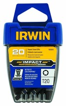 Irwin 1899945 Impact Performance T20 Impact Screwdriver Insert Bits 20 Pack - $13.86