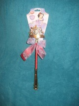 Disney Store Authentic Snow White Light Up Crown/Wand Princess Dress Up ... - $14.30