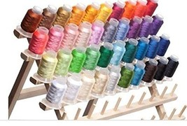 40 Spools Polyester Embroidery Machine Thread - $23.44
