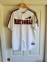 USED Majestic Houston Astros 2004 All Star Game Baseball Jersey SIZE LARGE - $49.49