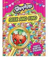 Shopkins Seek and Find Sticker Book - $5.93