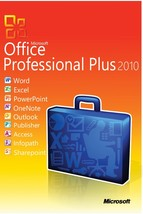 Microsoft Office Professional Plus 2010  -  3 PC - genuine - $23.93