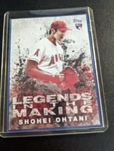 Shohei Ohtani 2018 Topps Legends in the Making #LITM-21 RC Rookie Card - $44.99