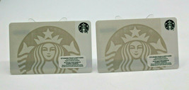 Starbucks Coffee 2015 Gift Card Siren Mermaid White Logo Zero Balance Se... - $12.77