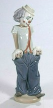 Lladro Society Figurine LITTLE PALS CLOWN with PUPPIES #7600 Retired Min... - $256.84