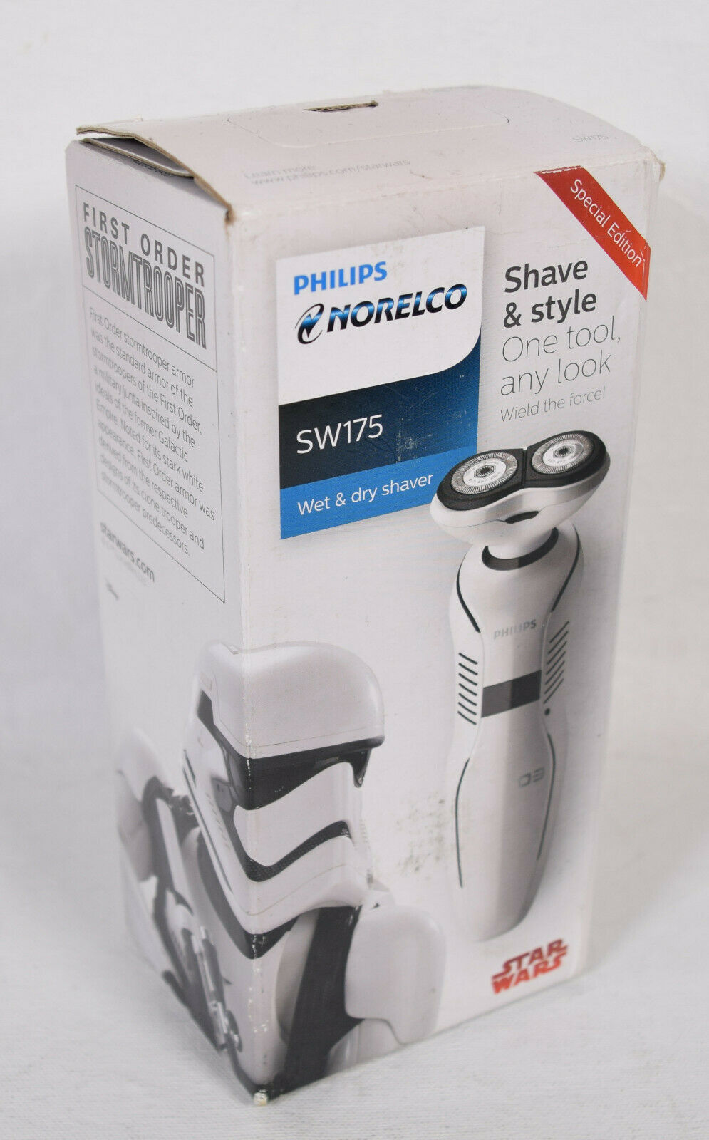 Philips Norelco Star Wars Stormtrooper Special Edition Wet Dry Electric Razor   - $39.60