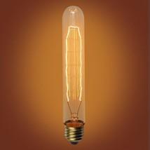 "Urbanest Cylinder Vintage Edison Bulb, E26 Medium Base, 40 Watt, 7.25"" length - $8.42+"
