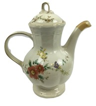 Rare Vintage Retired Mikasa Capistanao Heritage F2010 9 Cup Coffee/Tea P... - $99.95
