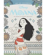 Art of Coloring: Moana: 100 Images to Inspire Creativity [Paperback] DBG - $8.32
