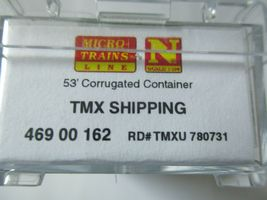 Micro-Trains # 46900162 TMX Shipping 53' Corrugated Container N-Scale image 4