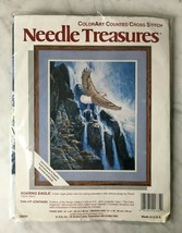 "Needle Treasures Soaring Eagle Counted Cross Stitch Kit - 14"" x 18"" - $17.05"