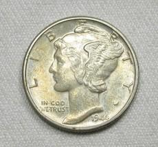 1944-P Silver Mercury Dime GEM UNC Coin AG567 - $19.28