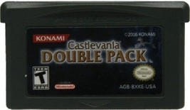 Castlevania Double Pack Game Boy Advance GBA 32bit Cartridge Card USA Ve... - $9.99