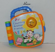 Fisher Price Laugh & Learn Counting Animal Friends SONG Book Light - $14.03