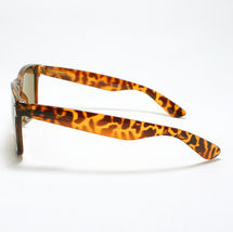 80's Classic Vintage OLD SCHOOL Sunglasses TURTLE SHELL image 5