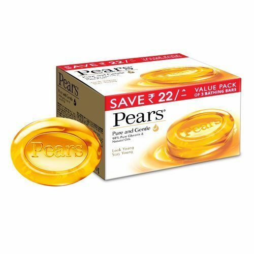 Pears Transparent Original Gentle Care Soap 125 gm (Pack Of 6) Free Shipping!!!!