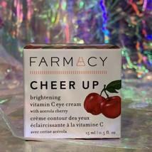 NIB Farmacy Cheer Up Vitamin C Eye Cream 15mL full Size NEW UNOPENED BOX image 1