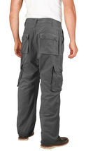 Men's Tactical Combat Military Army Work Twill Cargo Pants Trousers image 14