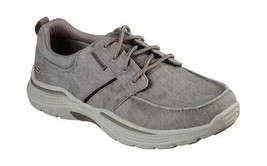 Men's Skechers Relaxed Fit Expended Bermo Boat Shoe Beige - $101.90