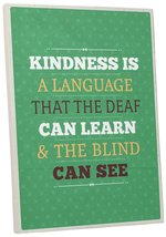 "Pingo World 0107QA0M6UY ""Kindness"" Inspirational Motivational Happiness ... - $43.51"
