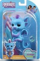 WowWee Fingerlings Glitter Dragon TARA in Blue New in Box - $9.89