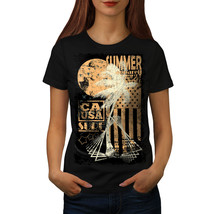Summer USA Flag Vintage Shirt California Women T-shirt - $12.99