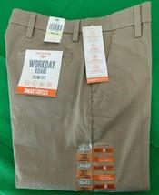 Dockers Men's Slim Tapered Fit Workday Khaki Smart 360 Flex,  Size 30x32 - $26.72