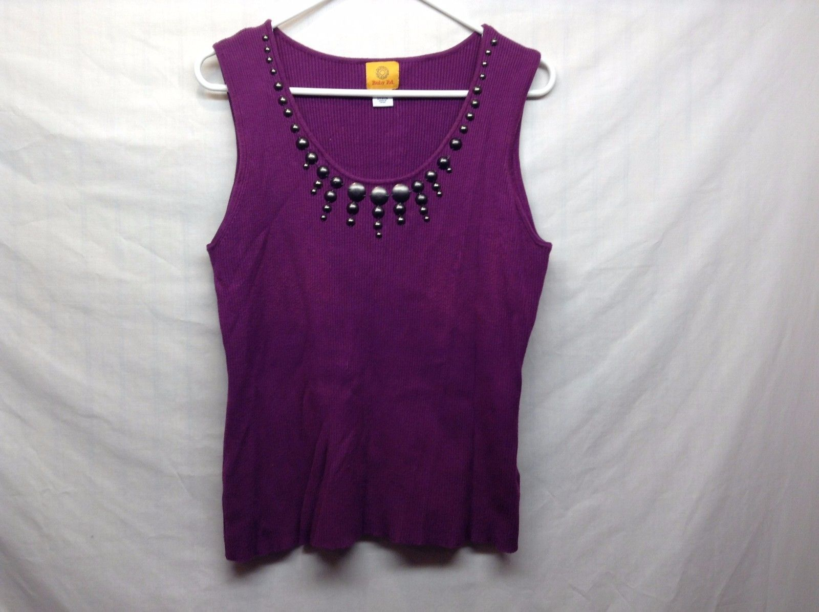 RUBY RD Ladies Purple Tank Top Sz XL