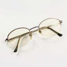 Emporio Armani 080 707 Silver Metal Semi Rimless RX Eyeglasses Frames 47... - $39.59