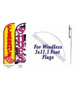 Clearance Sale Shoes  Windless  Swooper Flag With Complete Kit  - $94.04