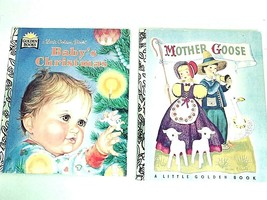 Vintage MOTHER GOOSE  Little Golden Book  Baby's  Christmas Collectible ... - $11.39