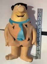 Vintage Fred Flinstone Latex Doll Applause Hanna Barbara image 2