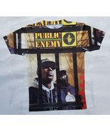 Public Enemy It takes a nation T Shirt black power pride hip hop legend pioneer - $36.99