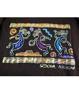 Sedona Arizonz Souvenir Kokopelli T Shirt Size M 100% Cotton Anvil - $9.69
