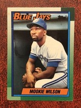 1990 Topps #182 Mookie Wilson Toronto Blue Jays Baseball Card - $0.99
