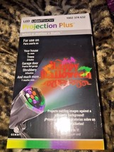 LED Lightshow Projection Whirl a Motion+Static -2 Effects in 1 - Happy H... - $11.65