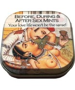 Before, During and After Sex Breath Mints in Kama Sutra Illustrated Meta... - $5.94