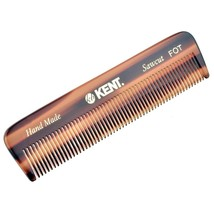 "Kent FOT 4 1/2"" 113 mm Handmade Comb. All Fine Pocket Comb (FOT) - $12.44"