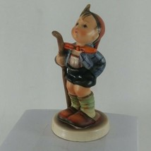 Hummel 16 2/0 Little Hiker Boy With Walking Stick, West Germany.  4 inch... - $14.50