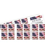 US Flag Stamp Collecting USPS Forever Stamps - 40 (two Books Of 20) Gift NW - $32.62