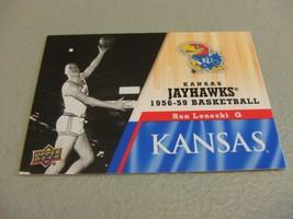 2013 Upper Deck #20 Ron Loneski -Kansas Jayhawks Basketball- - $3.12
