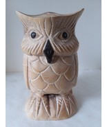 "8"" Tall Resin Owl Statute Beige - $18.55"