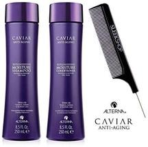 Alterna CAVIAR Anti-Aging REPLENISHING MOISTURE Shampoo & Conditioner DU... - $49.49